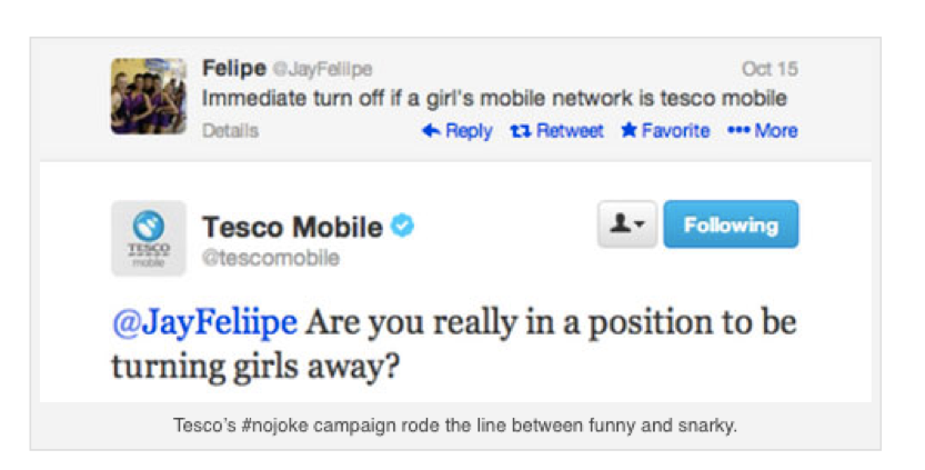 Tesco Mobile Example