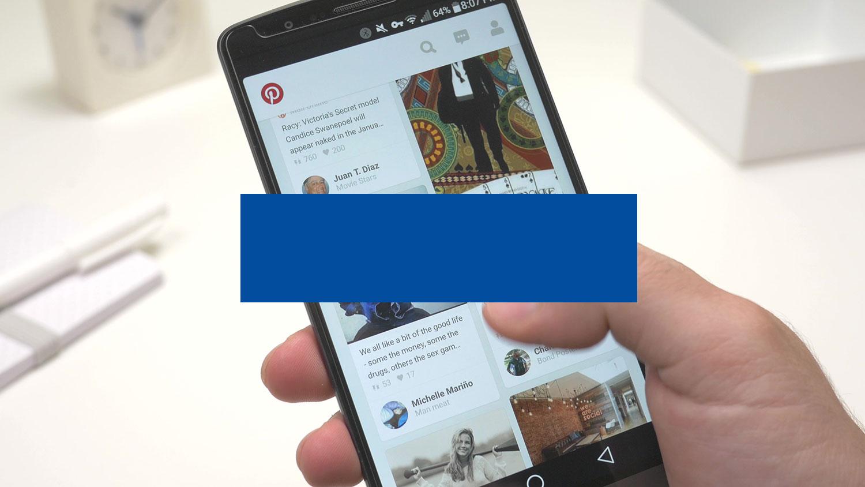 social media on a smart phone